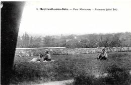 Montreuil. Panorma Depuis Le Parc Montereau à Montreuil Sous Bois. - Montreuil