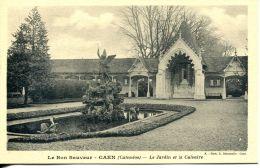 N°992 A -cpa Le Bon Sauveur De Caen -le Jardin Et La Calvaire- - Caen