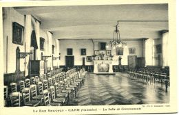 N°995 A -cpa Le Bon Sauveur De Caen -la Salle De Communauté- - Caen