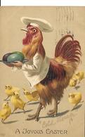 A JOYOUS  EASTER. Relief. 1910 - Illustrators & Photographers