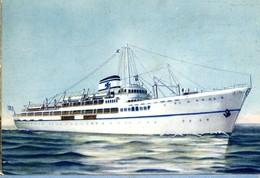 BATEAU  -  NOMIKOS LINES GREECE  -  CPM 1950/60 - Zonder Classificatie