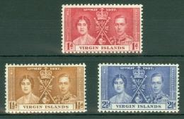 British Virgin Is.: 1937   Coronation     MNH - British Virgin Islands