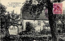 15- WISSEMBOURG - Entrée Au Gaisberg -ed. R. Arkermann - Wissembourg