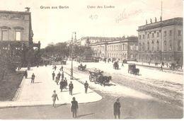 Berlin - CPA - Gruss Aus Berlin - Unter Den Linden - Autres