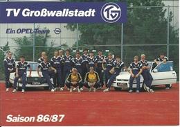 TV Großwallstadt / Saison 86-87 - Ein OPEL-Team - Handball