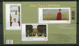 Canada ** Bloc 70 - Œuvres Du Peintre Paul Lemieux - Blocs-feuillets
