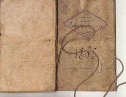 Livret Carnet Militaire D'infanterie De 1868 Régiment De Ligne Peetermans Anvers Né à Oetinghen Brabant Parchemin - Documenten