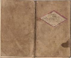 Livret Carnet Militaire D'infanterie De 1878 Baudoux De Roux De La Compagnie De Sart Ou Saint Bernard - Dokumente
