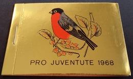 Schweiz Suisse Pro Juventute Heft Carnet 1968: Zu 224-226 Mi 891-893 Yv 824-826 ** MNH UNTER POSTPREIS - SOUS PR.POSTALE - Carnets
