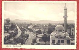 TIRANA - TIRANE - Panorama. Old Pc Albania AL01/31 - Albania