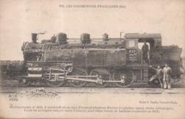 162 - Les Locomotives Françaises (Est) Machine Tender N°4401 Surchauffeur Rage D'Ecureuil Trains Lourds Banlieue 1911 - Matériel
