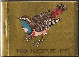 Schweiz Suisse Pro Juventute Heft Carnet 1971: Zu 236-238 Mi 960-962 Yv 891-893 ** MNH UNTER POSTPREIS - SOUS PR.POSTALE - Passereaux