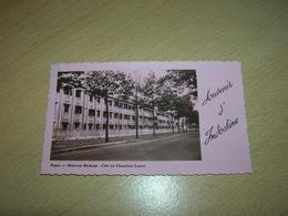 Photo Format 6X11 Souvenir D Indochine Saigon Maternite Bechamp Bon Etat - Lieux