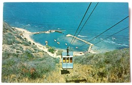 #304  View Of The Funicular - Fajardo PUERTO RICO Caribbean Islands - US Postcard - Postcards