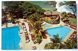 #304   Hotel 'San Jeronimo' Swimming Pool - San Juan PUERTO RICO Caribbean Islands - US Postcard - Postcards
