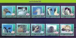 Nbu212 FAUNA VOGELS ZEEHOND SEAL SEA MAMMAL BIRDS PENGUIN ALBATROSS MARINE LIFE ROSS DEPENDENCY 1994 PF/MNH # - Collections, Lots & Series