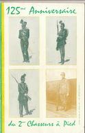 Programme De 1956 125 Anniversaire Chasseurs à Pied Yser Ertvelde Dixmude Anvers En 64 Pages - Documenten