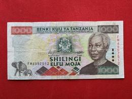 Tanzania - 1000 Shillingi 2000 Pick 34 - Ttb / Vf ! (CLVO113) - Tanzanie