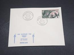CONGO - Enveloppe FDC  1960 XVII ème Olympiades- L 18400 - République Du Congo (1960-64)