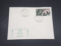 GABON - Enveloppe FDC  1960 XVII ème Olympiades- L 18401 - Gabon (1960-...)