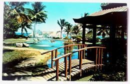 #305   Garden With 'SAN GERONIMO' Fortress - San Juan PUERTO RICO Caribbean Islands - US Postcard - Postcards