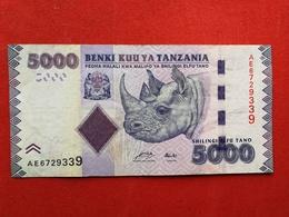 Tanzania - 5000 Shillingi 2010 Pick 43a - Ttb / Vf ! (CLVO115) - Tanzanie