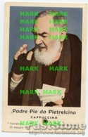 Santino PADRE PIO DA PIETRELCINA Con RELIQUIA (Ex-Indumentis) - OTTIMO P47 - Godsdienst & Esoterisme