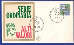 FDC Da 2000 Lire Alti Valori Filagrano 1979 Annullo Roma - 6. 1946-.. Repubblica