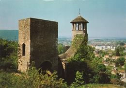 Carte Postale Des Années 70 De L'Isère - Crémieu - Cité Médiévale - Tour St Hippolyte - Crémieu