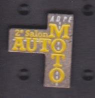 PIN'S - ILE DE LA REUNION - 2 EME SALON AUTO MOTO A  L' ADPE ST DENIS  - AUTOMOBILE - Pin's