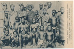 COTE D'IVOIRE , GRAND BASSAM - Nu Ethnique - Nous En Avons Pour Tous Les Goûts - Ivory Coast