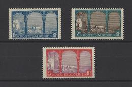 ALGERIE . YT  53-54-56  Neuf *  Vues D'Alger  1926 - Algerije (1924-1962)