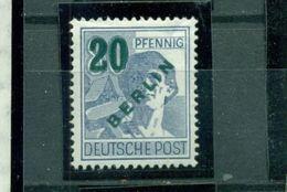 Berlin Auf Arbeiterserie Nr. 66 Falz * - Berlin (West)