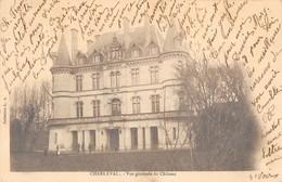 CPA 13 CHARLEVAL VUE GENERALE DU CHATEAU (dos Non Divisé) - Francia