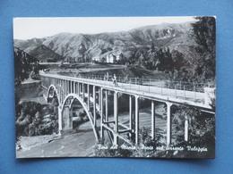 Cartolina Fino Del Monte - Ponte Sul Torrente Valeggia - 1967 - Bergamo