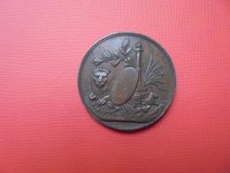 Liège Médaille 1853(Datée Sur Tranche)- 35 Mm-22 Gr. - Other