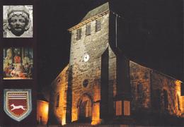 15 SAINT MAMET / MULTIVUES / EGLISE GOTHIQUE / BLASON - Saint-Mamet-la-Salvetat