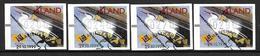 Aland 1999 Timbres De Distributeurs Série Oblitérée Non Cotée Yvert Avec Oiseau - Aland