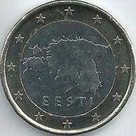 Estland  2016   1 Euro  Deze Munt Komt Uit De BU Ou Coffret   Zeer Zeldzaam - Extréme Rare !!!!! - Estonia