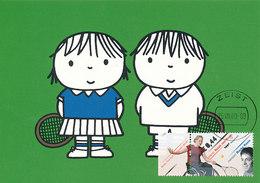 D34318 CARTE MAXIMUM CARD FD 2009 NETHERLANDS - TENNIS WHEELCHAIR CP ORIGINAL - Tennis