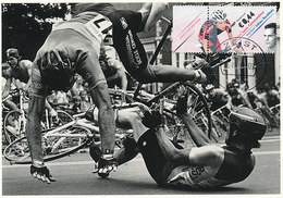 D34319 CARTE MAXIMUM CARD FD 2009 NETHERLANDS - RACING CYCLING BICYCLE CP ORIGINAL - Cycling
