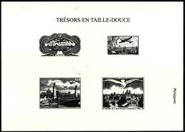 TRESORS  En Taille Douce  -   Philaposte - Documents Of Postal Services