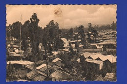 AOI Colonie Italiane ADDIS ABEBA Periferia  Cpa Viaggiata X Italia 1938 - Ethiopia