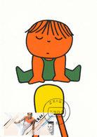 D34321 CARTE MAXIMUM CARD FD 2009 NETHERLANDS - GYMNASTICS POMMEL HORSE CP DICK BRUNA ORIGINAL - Gymnastics