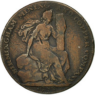 Monnaie, Grande-Bretagne, Birmingham Mining & Copper Company, Halfpenny Token - Monnaies Régionales