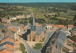LES MAZURES (08). Vue Générale Aérienne. Eglise - France