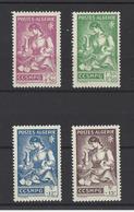 ALGERIE . YT  205/208 Neuf *  Emis Au Profit Des Familles Des Prisonniers De Guerre  1944 - Algérie (1924-1962)