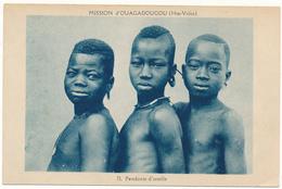 HAUTE VOLTA - Mission D'OUAGADOUGOU, Pendants D'Oreilles - Burkina Faso