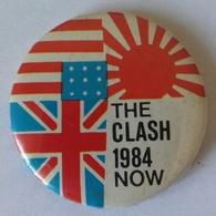 Pins THE CLASH - 1984 - NOW - Vedi Foto - Musique