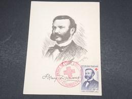FRANCE - Carte Maximum Henri Dunant En 1959 - L 18439 - Maximum Cards